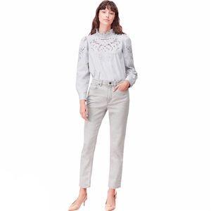 Rebecca Taylor NWT La Vie Ines High Rise Jeans
